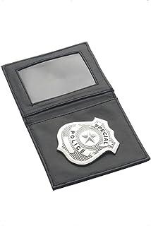 Placa de policía accesorios agente insignia