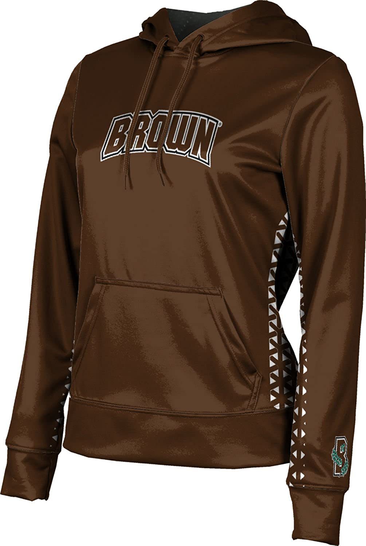ProSphere Brown University Girls' Pullover Hoodie, School Spirit Sweatshirt (Geo)