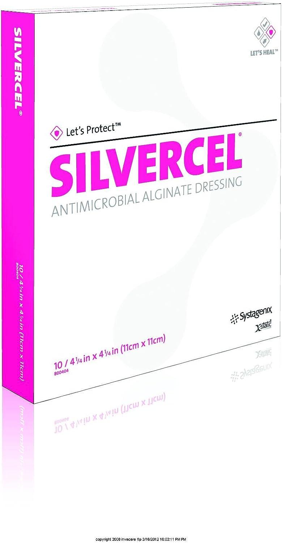 SILVERCEL Antimicrobial Alginate Dressing Classic dressingNG 2021
