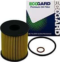 ECOGARD X5830 Cartridge Engine Oil Filter for Conventional Oil - Premium Replacement Fits Mini Cooper, Cooper Countryman, Cooper Paceman