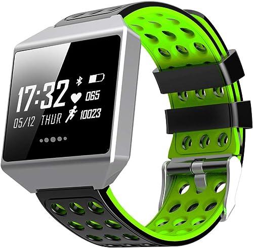 ZGHR Unisexe Fitness Tracker Smart Bracelet 1,3 Pouce Activité Trackers étanche Podomètre Montre Détecteur De Fréquence Cardiaque De Sommeil Moniteur De Sommeil
