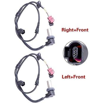 AINTIER 1PCS Right+Front ABS wheel Speed Sensor brake sensor Fit for 2001 2002 2003 2004 2005 2006 Mitsubishi Montero
