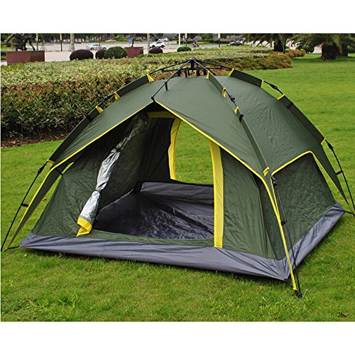 Waterproof Automatic pop up Tent, 2-4 Person Lightweight Tent,Waterproof Windproof, UV Protection, Perfect for Beach, Outdoor, Traveling,Hiking,Camping, Hunting, Fishing Easy Pop-Up Quick Set up