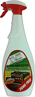 Well Done St. Moritz Oil & Grease Remover - Cold Action Fume Free, 27 Oz. by well done st.moritz