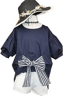 MV Niñas nuevo ropa de niños de verano verano manga corta Casual traje de dos piezas