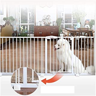 Baby Gates for Stairs Fence Pressure Mount Isolation Door Pet Fence Dual Lock Self Closing