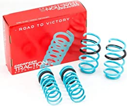 Godspeed LS-TS-FD-0005 Traction-S Performance Lowering Springs, Reduce Body Roll, Improved Handling, Set of 4