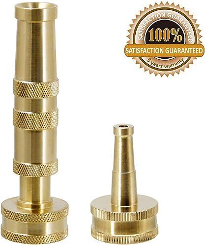 Kytree Water Pressure Reducing Valve Regulator 3//4 Brass Coopper Chrom with Gauge