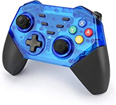 INTSUN Wireless Switch Pro Controller, Bluetooth Switch Game Controller Dual Motor Vibrating Joysticks Gamepad for Nintendo ,Windows PC, Android device