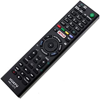 Mando a distancia Sony LED LCD 3D TV KD43X8309C / KD49X8308C Netflix Remote Control - control remoto, télécommande, Kumanda, Plug & Play