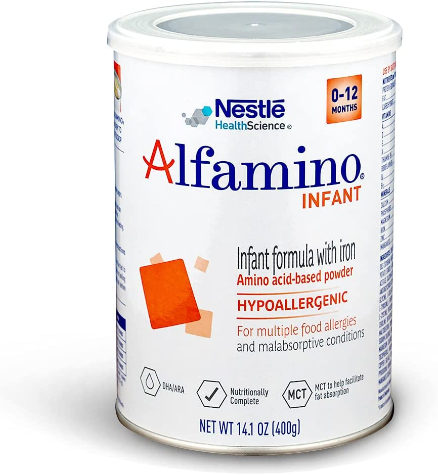 Alfamino In a popularity Infant Amino Acid Based Unfla Formula with outlet Iron