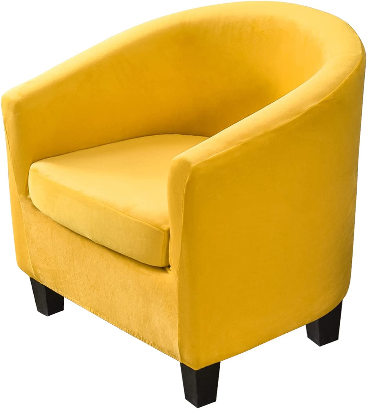 2 Piece Velvet Tub Special price for a limited time Chair Covers with Soft Cover Cushion Stretch Large discharge sale