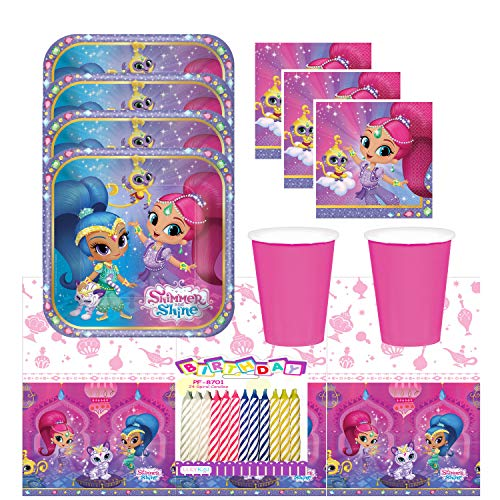 Shimmer and Shine Party Supplies Pa…