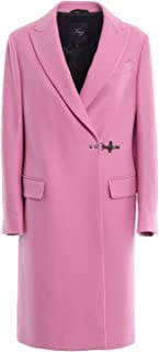 Fay Luxury Fashion Womens NAW51393560RCPL810 Pink Coat | Fall Winter 19