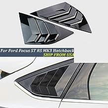 SLONGK P/édale de Voiture en Acier Inoxydable Couvre Les Accessoires de p/édales pour Ford Focus 2 3 4 MK2 MK3 MK4 Kuga Escape RS St 2005////2017