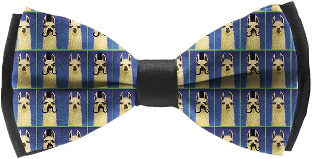 Mens Bow Ties Handmade Pre-Tied Fun Airplanes On White Sky Pattern Bow Ties For Men
