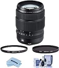 Fujifilm GF 32-64mm f/4 R LM WR Wide-Angle Zoom Lens - Bundle with Hoya NXT Plus 77mm HMC UV Filter, Hoya NXT Plus, 77mm H...