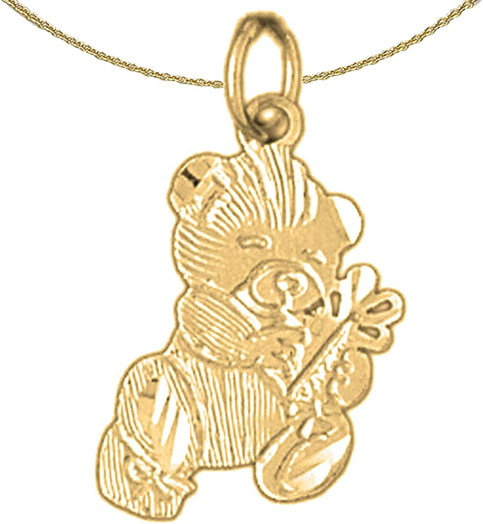Jewels Obsession 14K Yellow Rare Gold Teddy Max 48% OFF 18