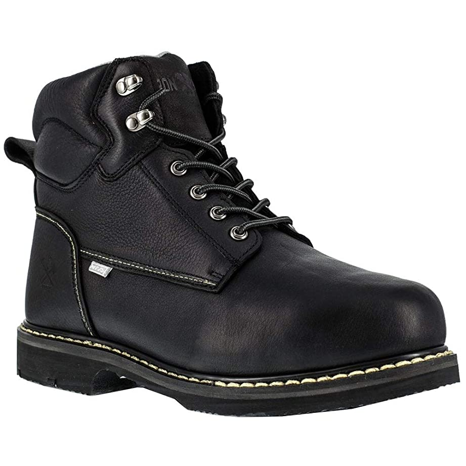 ジャンピングジャックヘルシー解釈Iron Age IA5019 Men's Groundbreaker Safety Toe Industrial Boot, Black, 8.5 W US