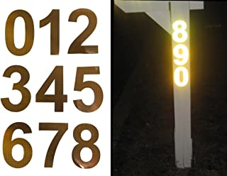 Bright Ideas RA1 Reflective Address Numbers (up to 5 numbers)