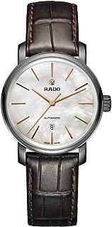 Rado Women's White Dial Color Leather Strap Watch - R14026926