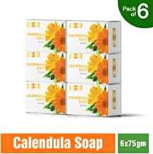 Richfeel Anti Acne Soap with Calendula Extracts, 75 g (Pack of 6)