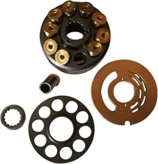 Pump Parts for NACHI PVD-00B Piston Pump (PVD-00B-9/14/15/16P), Pump Repair Kits Includes: Cylinder Block, Valve Plate, Retainer Plate,Ball Guide and Piston Shoes