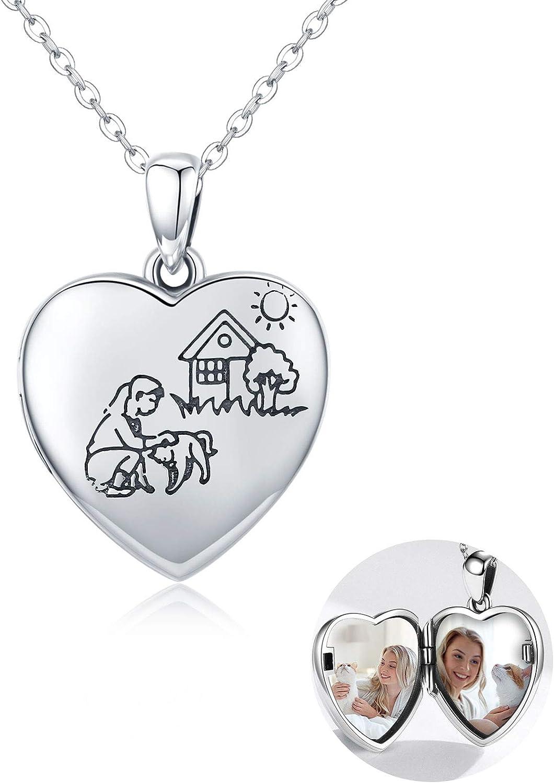 Waysles Dog Cat Horse Unicorn Necklace Girls with Locket Fort Discount is also underway Worth Mall Yo Love
