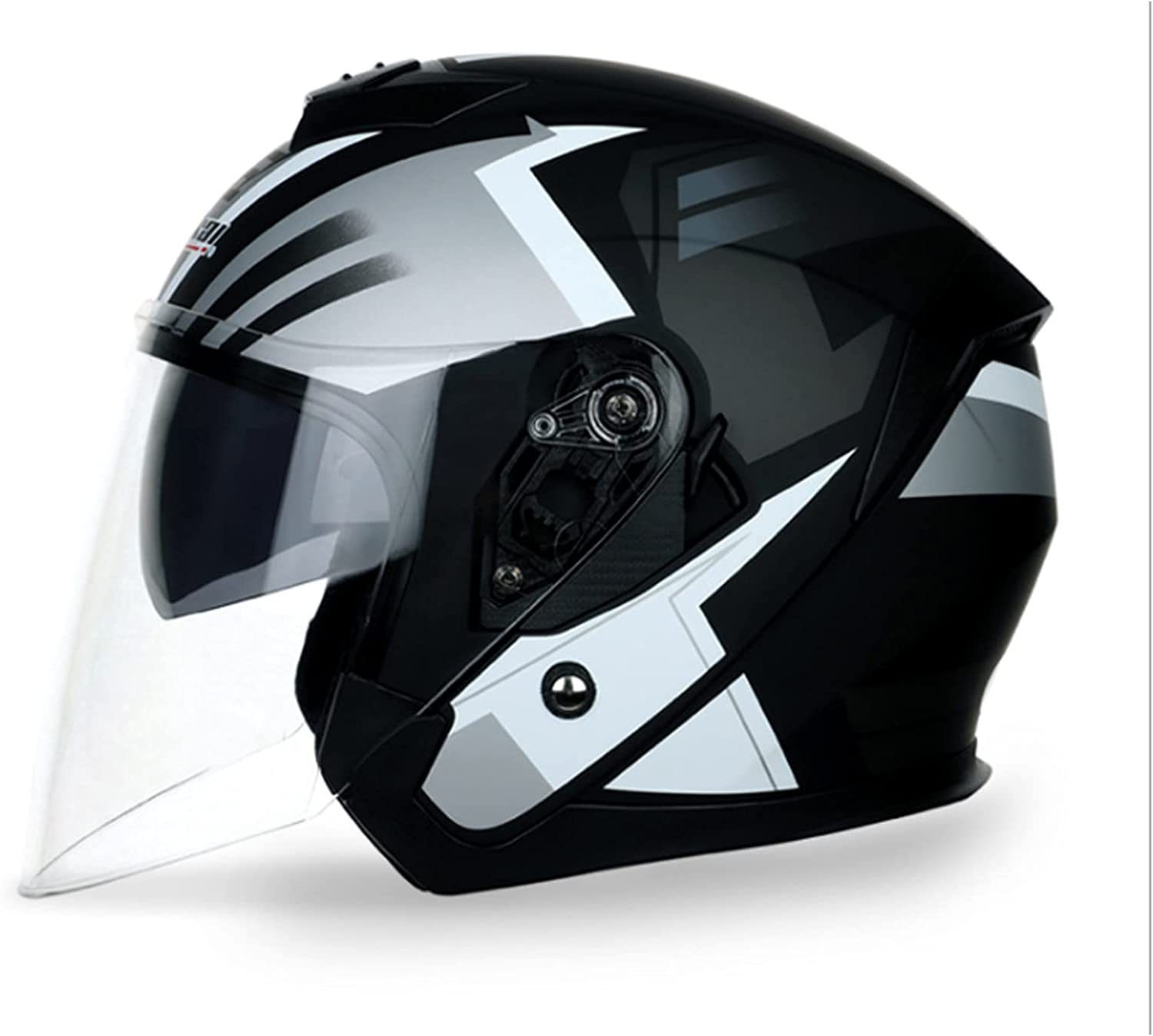 Special price Unisex-Adult Open-Face-Helmet-Style 3 4 Helmet S with Seasonal Wrap Introduction Motorcycle