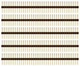 Schmartboard Qty. 5 0.1' Spacing Extra Long Single Row Headers