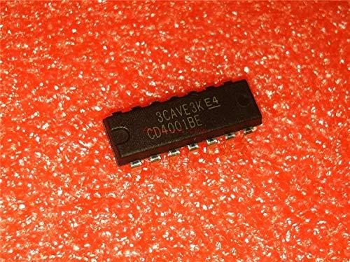 10 teile/los CD4001BE DIP14 CD4001 DIP neue und original IC