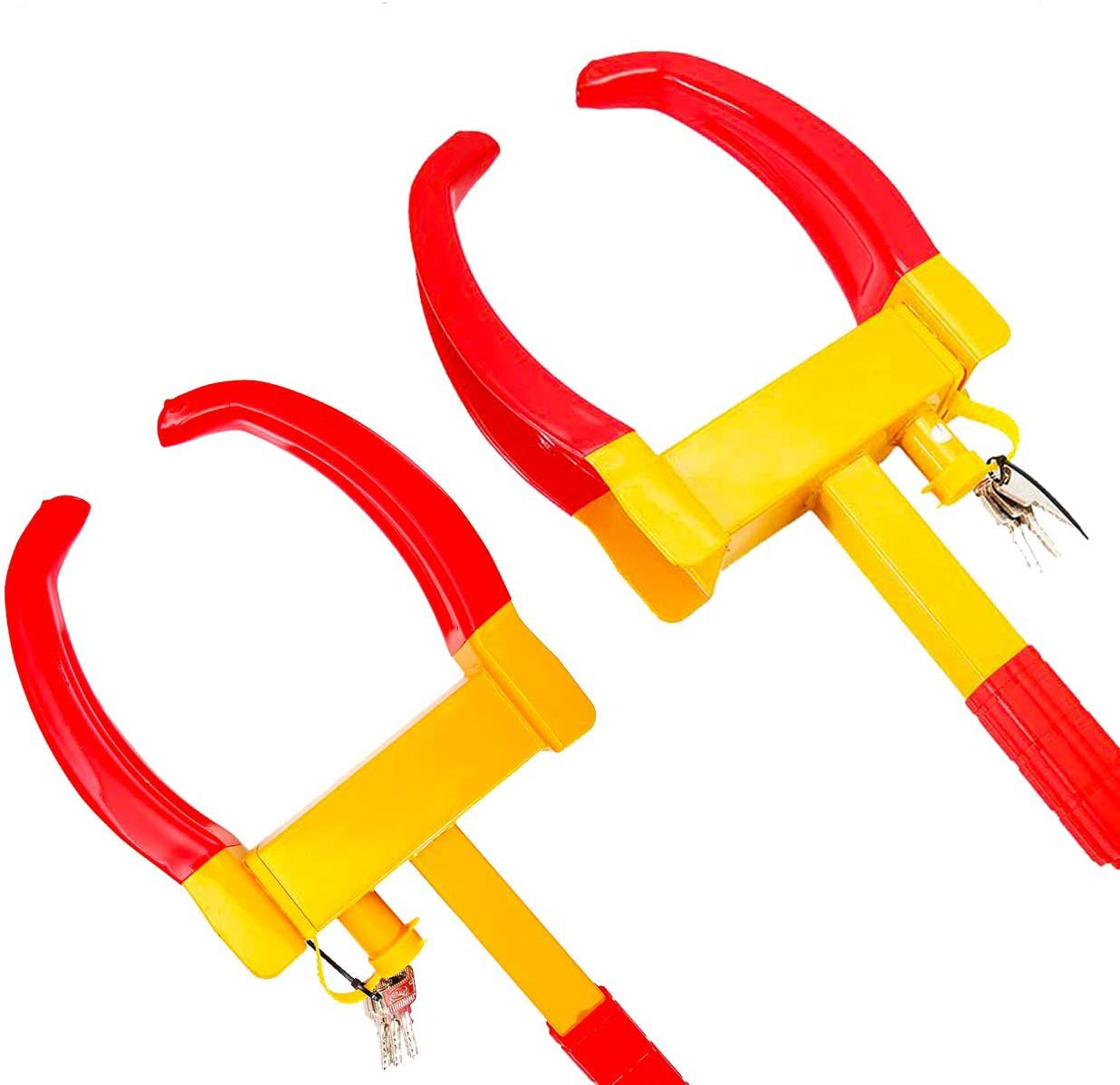 ALAVENTE Heavy Duty Trailer Lock Special sale item Anti-T Wheel Adjustable Clamps Superior