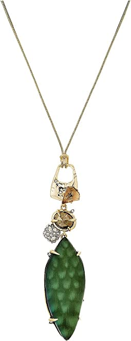 Alexis Bittar - Long Rocky Pendant Necklace