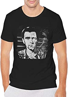 Nanazang Peter Gabriel Melt Men Comfortable Fashion Summer Short Sleeve Round Neck Shirt Black