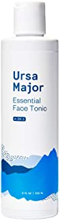 Ursa Major Essential Face Tonic | 4-in-1 Natural Toner to Cleanse, Exfoliate, Soothe and Hydrate | 8 Ounces