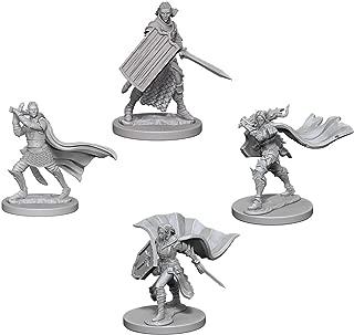 Pathfinder Battles Deep Cuts Miniatures Bundle: Elf Male Paladin & Elf Female Paladin