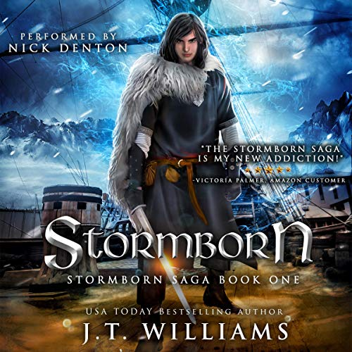 Stormborn (A Tale of the Dwemhar) Audiobook By J.T. Williams cover art