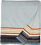 Pendleton Organic Cotton Jacquard Blanket - Queen Escalante Ridge Denim One Size