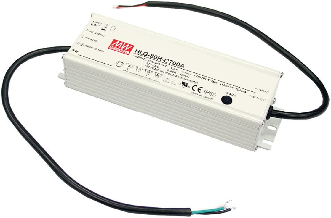 [PowerNex] Mean Well HLG-80H-30A 30V 2.7A 81W Single Output Switching LED Power Supply with PFC