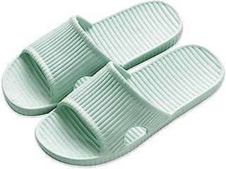 APIKA Bathroom Shower Anti-slip Lightweight Slipper for Men and Women