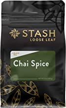 Stash Tea Chai Spice Black Loose Leaf Tea 3.5 Ounce Bag, Loose Leaf Premium Black Tea Blended with Invigorating, Warming Spices, Drink Chai Tea Hot or Iced