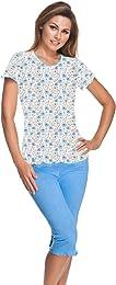 Lucy 898 Pyjama en coton pour femme