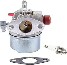 Carburetor for Tecumseh LV195EA 640303 640271 640350 LV195XA Lawn Mower Carb with Spark Plug Gasket Parts Kit