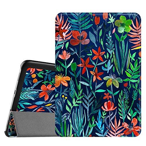 FINTIE Custodia per Samsung Galaxy Tab S2 8.0 - Ultra Sottile di Peso Leggero Tri-Fold Case Cover con Funzione Sleep Wake per Samsung Galaxy Tab S2 8 Pollici Tablet, Jungle Night