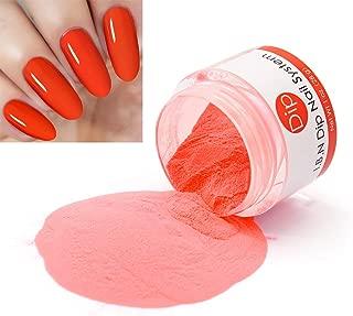 Orange Dipping Powder (Added Vitamins) I.B.N Nail Dip Powder, 1 Ounce (DIP 042)