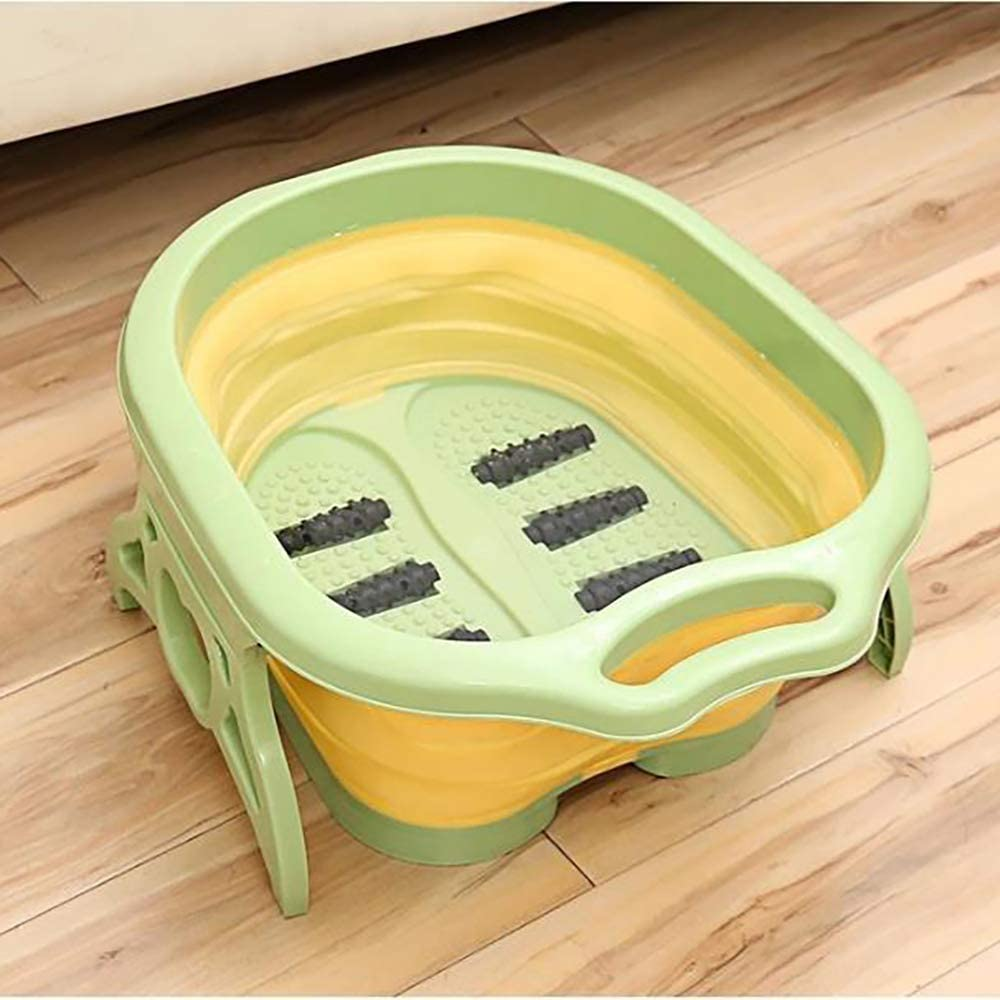 Home Foot Basin Foldable Bath Massage Max 64% Max 74% OFF OFF Bucket Thi Tub Heightening