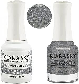 Kiara Sky Matching Gel Polish + Nail Lacquer, Time for a Selfie, .5 fl. oz
