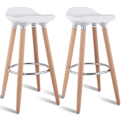 Awe Inspiring Modern Wooden Stools Amazon Com Camellatalisay Diy Chair Ideas Camellatalisaycom