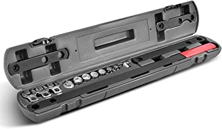 Goplus 16pcs Universal Serpentine Belt Tool Set, Comprehensive Set of Tools to Assist with the Removal and Installation of Serpentine Belts, Adjuster Tightener Wrench Tool Kit
