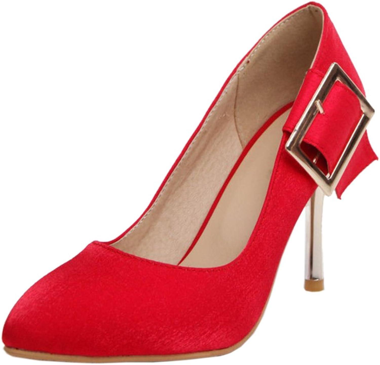 KemeKiss Women Thin Heel Slip On Pumps